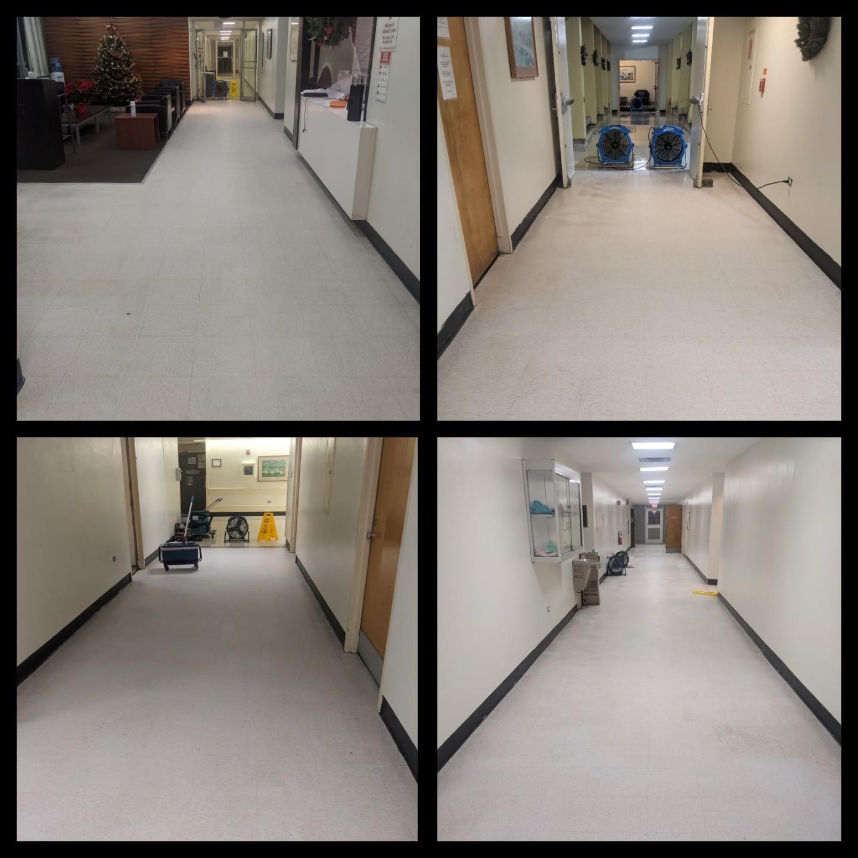 VCT Flooring Restoration NJ